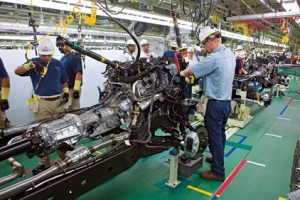 Toyota Adds Capacity to West Virginia Assembly Plant