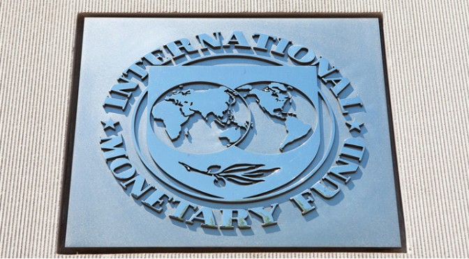 INTERNATIONAL MONETARY FUND: The Washington, D.C.-Based IMF Pinned Much Of The Blame For The Lower Growth Forecast On The U.S., Whose Economy Contracted In The First Quarter Of This Year.