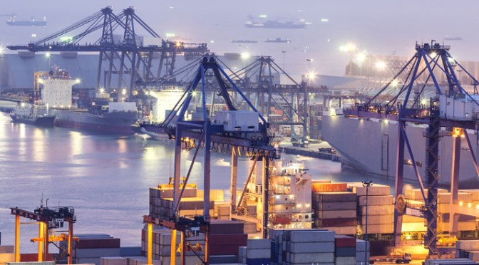THE PORT OF LE HAVRE IS ONE OF SEVERAL EUROPEAN PORTS THAT WILL BENEFIT FROM EU INFRASTRUCTURE INVESTMENTS. A total of $14.5 billion will be funneled toward 276 projects.