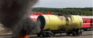 Large Rail Fire Highlights the Danger of Fuel Transportation