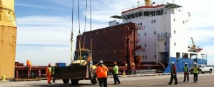 Port Tampa Bay Receives Shipments of Large Industrial Equipment to be Sold at Auction