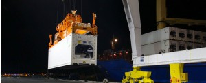 GT USA receives  M.V. NORDEROOG on maiden call to Port Canaveral