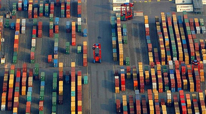 Proposed US-EU TTIP covers shipments of export cargo and import cargo in international trade.