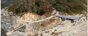 Bridge-Building Logistics in the Himalayan Mountains of Northern India