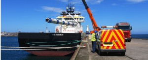 Port Tampa Bay Receives New Post-Panamax Container Cranes