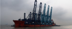 State-of-the-Art Container Cranes on Their Way to Jacksonville