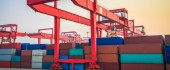 Inland port handles shipments of export cargo and import cargo in international trade.