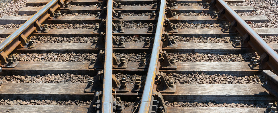 Railroads carry shipments of export cargo and import cargo in international trade.