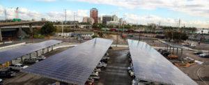 Solar Panels Installed at Port of Long Beach