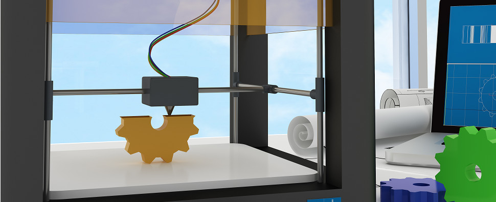 The impact of 3D printing on manufactiring processes could include the logistics of shipments of export cargo and import cargo in international trade.