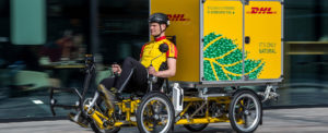 DHL Expands Green Urban Deliveries