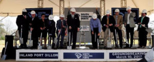 SC Ports Breaks Ground on Inland Port Dillon