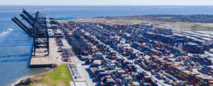 Port Houston Cranes On the Way