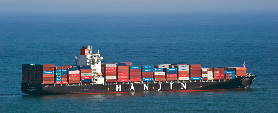 Hanjin was a container carrier of shipments of export cargo and import cargo in international trade.