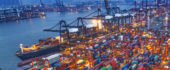 Port of Virginia is handling more shipments of export cargo and import cargo in international trade.