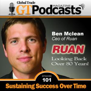 Ben Mclean with RUAN