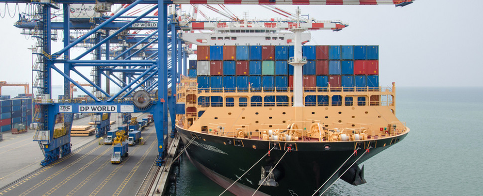 Report on Djibouti shipments of export cargo and import cargo in international trade.