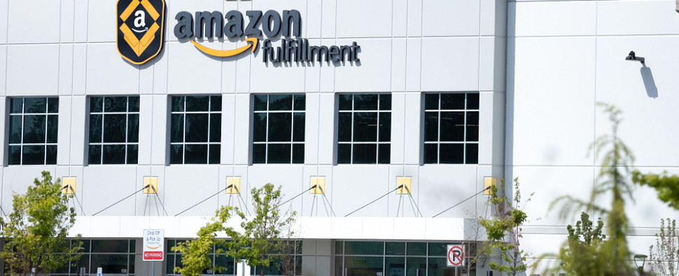 Amazon selected Michigan site for fulfillment center to process shipments of export cargo and import cargo in international trade.