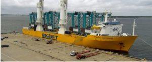 Next Wave of Crane Deliveries is Underway at Port of Virginia