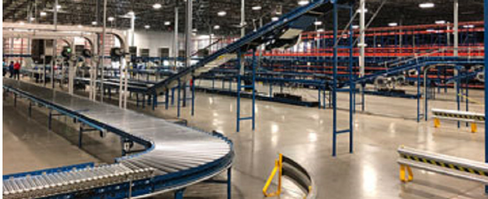 New 3PL warehouse to handle shipments of export cargo and import cargo in international trade.