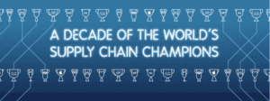A decade of the world's supply chain champions