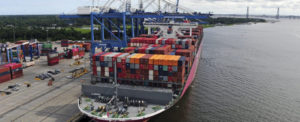 SC Ports Handles Record July Container Volume