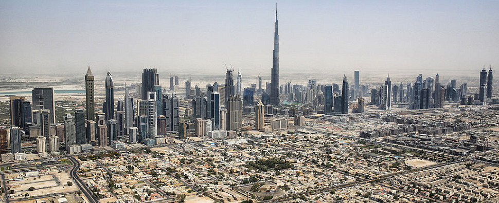 Dubai is handling more shipments of export cargo and import cargo in international trade.