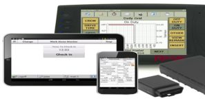 ELDs monitor drivers of truck shipments of export cargo and import cargo in international trade.