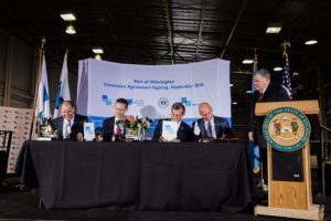Gulftainer agreement to operate and expand Port of Wilmington, Delaware