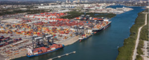 RECORD BREAKING NUMBERS REPORTED FOR FLORIDA PORT