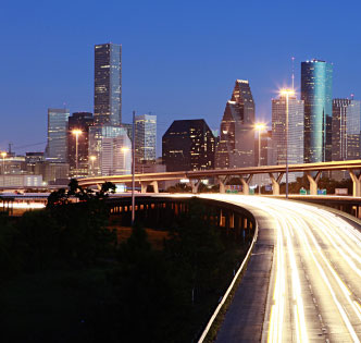 BACK ON TRACK Bob Pertierra, chief economic development officer at Greater Houston Partnership, says Houston has recovered 2.4 jobs for every job lost during the Great Recession.