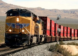Union Pacific Christens New Intermodal Terminal