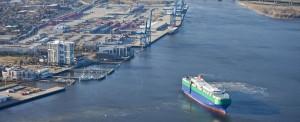 Container Volume Up Three Percent at South Carolina Ports