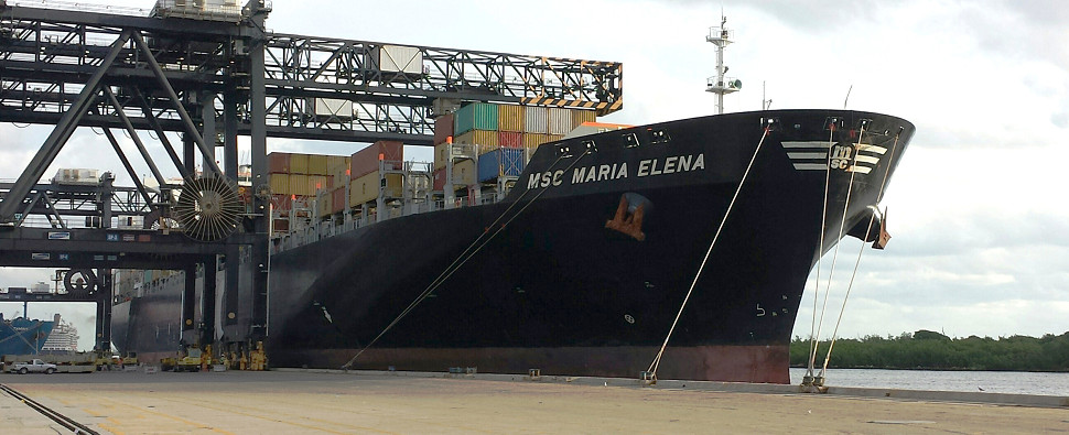 Investments in infrastructure has allowed Port Everglades to handle higher volumes of export shipments and import shipments in international trade.