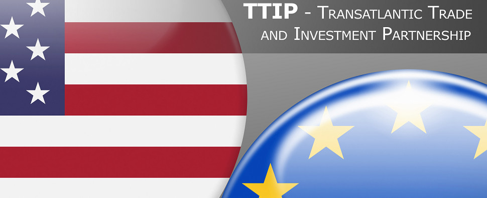 Transatlantic Trade and Investment Partnership would increase shipments of export cargo and import cargo between the U.S. and the EU.