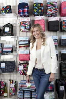 """FOOD FOR THOUGHT CEO Melissa Kieling says her freezable lunch bag is unique from a sales standpoint because the secret is on the inside. """"[Selling it] requires passion and energy and we absolutely demand it from our partners."""""""