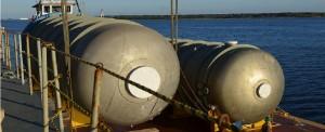 Oversized Steel Tanks Move Through JAXPORT