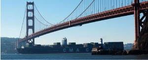 CMA CGM BENJAMIN FRANKLIN Departed Oakland After Completing Maiden Calls to U.S. Ports