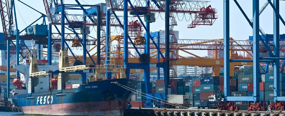 Federal Maritime Commission is seeking solution for problems surrounding ports that habndle shipments of export cargo and import cargo in international trade.