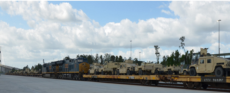 New Jaxport rail facility will handle shipments of export cargo and import cargo in international trade.