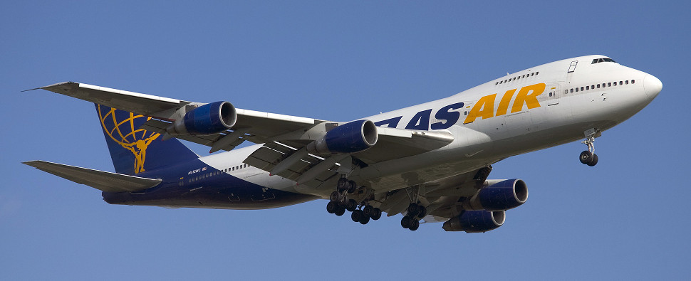 Atlas Air will be carrying shipments of export cargo and import cargo in international trade for FedEx.