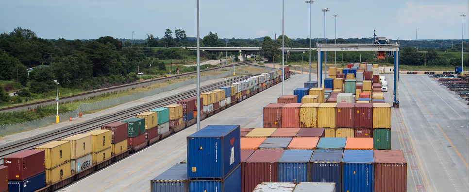 New inland ports will allow South Carolina ports to handle more intermodal shipments of export cargo and import cargo in international trade.