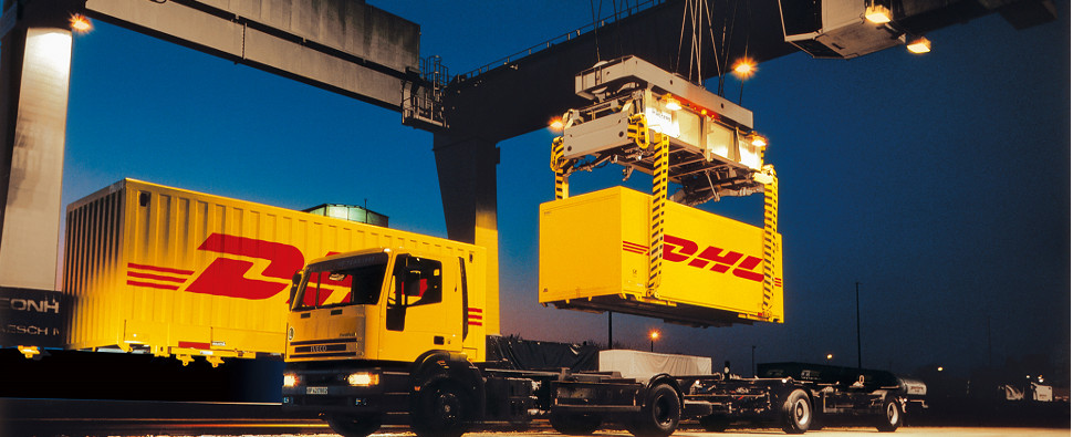 DHL is facilitating shipments of export cargo and import cargo in international trade fro Europe to Iran.