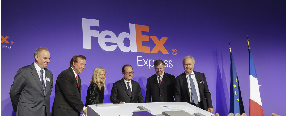 With new investments FedEx will vbe handling more shipments of export cargo and import cargo in international trade.