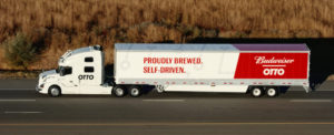 World's First Commercial Shipment by Self-Driving Truck