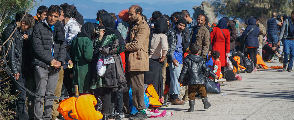 Refugees in Europe have impeded shipments of export cargo and import cargo in international trade.