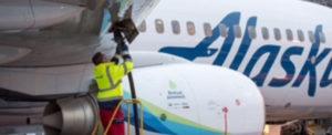 Alaska Airlines' First Forest Powered Flight