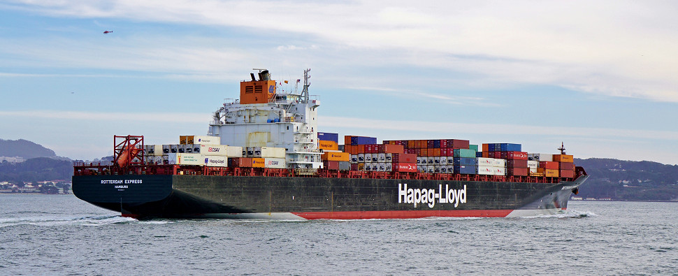CMA CGM service carries shipments of export cargo and import cargo in international trade.