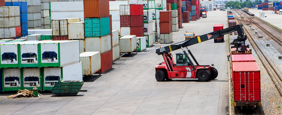 Service offers rate optmization for intermodal shipments of export cargo and import cargo in international trade.