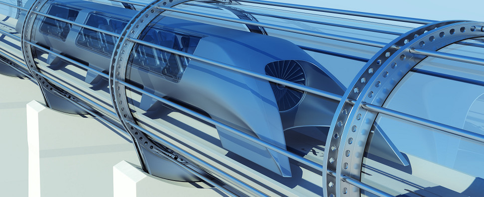 Hyperloop could be used to carry shipments of export cargo and import cargo in international trade.